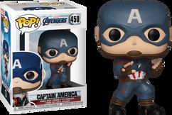 Avengers 4: Endgame - Captain America US Exclusive Pop! Vinyl Figure