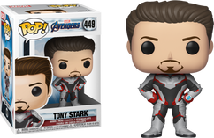 Avengers 4: Endgame - Tony Stark in Team Suit Pop! Vinyl Figure