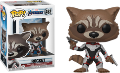 Avengers 4: Endgame - Rocket in Team Suit US Exclusive Pop! Vinyl Figure