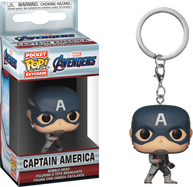 Avengers 4: Endgame - Captain America Pocket Pop! Vinyl Keychain