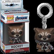 Avengers 4: Endgame - Rocket in Team Suit Pocket US Exclusive Pop! Vinyl Keychain