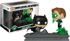 Justice League - Green Lantern and Batman Jim Lee Collection Comic Moments US Exclusive Pop! Vinyl Figure 2-Pack