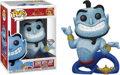 Aladdin - Genie with Lamp Diamond Glitter US Exclusive Pop! Vinyl Figure