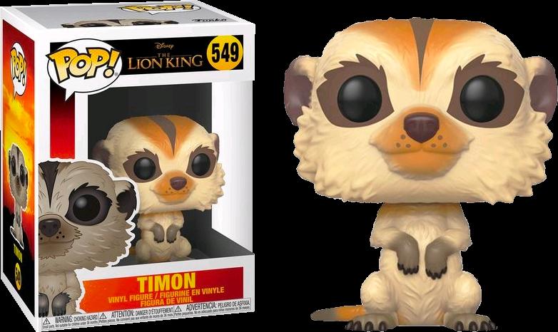 The Lion King 2019 Timon Pop Vinyl Figure