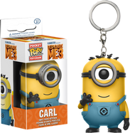 Despicable Me 3 - Minion Carl Pocket Pop! Keychain