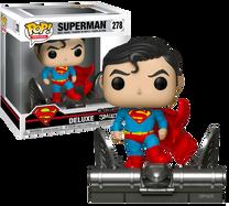 Superman - Superman on Gargoyle Jim Lee Collection Deluxe US Exclusive Pop! Vinyl Figure