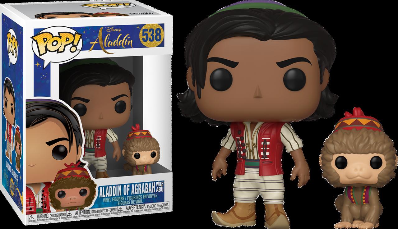 Aladdin 2019 Aladdin Amp Abu Pop Vinyl Figure