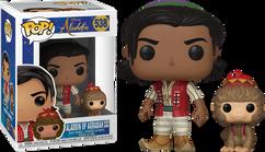 Aladdin (2019) - Aladdin & Abu Pop! Vinyl Figure