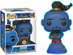 Aladdin (2019) - Genie Glow in the Dark US Exclusive Pop! Vinyl Figure