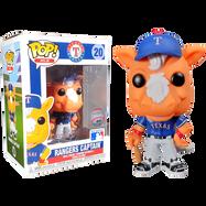 MLB Baseball - Rangers Captain Texas Rangers Mascot Pop! Vinyl Figure