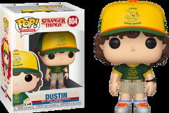 Stranger Things 3 - Dustin in Camp Uniform Pop! Vinyl Figure