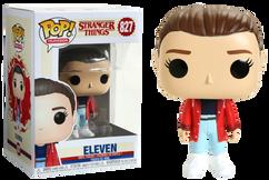Stranger Things 3 - Eleven with Slicker US Exclusive Pop! Vinyl Figure