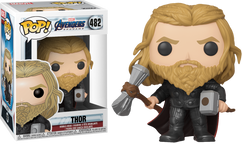 Avengers 4: Endgame - Thor with Hammer & Stormbreaker US Exclusive Pop! Vinyl Figure