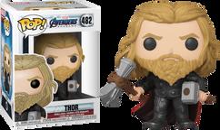Avengers 4: Endgame - Thor with Hammer & Stormbreaker US Exclusive Pop! Vinyl Figure