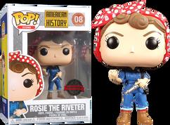 American History - Rosie the Riveter US Exclusive Pop! Vinyl Figure