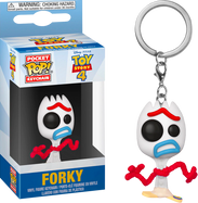 Toy Story 4 - Forky Sad US Exclusive Pocket Pop! Vinyl Keychain