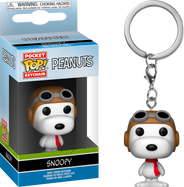Peanuts - Snoopy WWII Flying Ace Pocket Pop! Vinyl Keychain