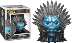 Game of Thrones - Night King on Throne Metallic Deluxe US Exclusive Pop! Vinyl Figure