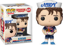 Stranger Things 3 - Steve in Scoops Ahoy Uniform US Exclusive Pop! Vinyl Figure