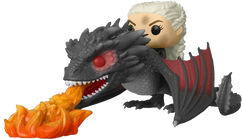 Game Of Thrones - Daenerys with Fire-Breathing Drogon Pop! Rides Vinyl Figure