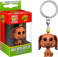 The Grinch - Max with Antler Pocket Pop! Vinyl Keychain