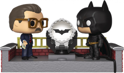 Batman Begins - Batman & Commissioner Gordon with Light Up Bat Signal 80th Anniversary Movie Moments Pop! Vinyl Figure 2-Pack