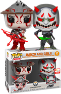 Overwatch - Hanzo & Genji Pop! Vinyl Figure 2-Pack (2019 E3 Convention Exclusive)