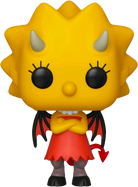 The Simpsons - Lisa Simpson as Devil Pop! Vinyl Figure
