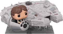 "Star Wars - Han Solo with Millenium Falcon 13"" Deluxe Pop! Vinyl Figure"