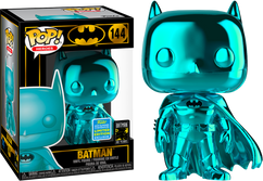 Batman - Batman Teal Chrome SDCC19 Pop! Vinyl Figure