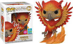 Harry Potter - Fawkes Flocked SDCC19 Pop! Vinyl Figure