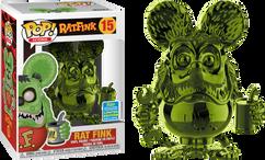 Ratfink - Rat Fink Green Chrome SDCC19 Pop! Vinyl Figure