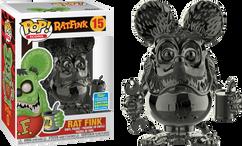 Rat Fink - Rat Fink Grey Chrome SDCC19 Pop! Vinyl Figure