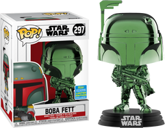 Star Wars - Boba Fett Green Chrome SDCC19 Pop! Vinyl Figure