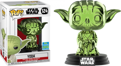 Star Wars - Yoda Green Chrome SDCC19 Pop! Vinyl Figure