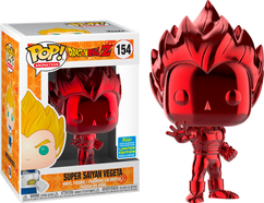 Dragon Ball Z - Super Saiyan Vegeta Red Chrome SDCC19 Pop! Vinyl Figure