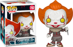 It: Chapter Two - Pennywise with Blade US Exclusive Pop! Vinyl Figure