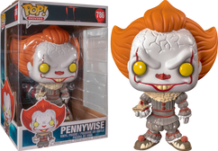 """It: Chapter Two - Pennywise with Boat 10"""" US Exclusive Pop! Vinyl Figure"""