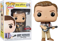 The Office - Andy Bernard US Exclusive Pop! Vinyl Figure