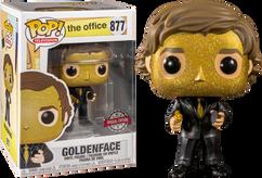 The Office - Jim Halpert Goldenface US Exclusive Pop! Vinyl Figure