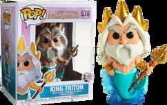 "The Little Mermaid - King Triton 6"" Pop! Vinyl Figure"