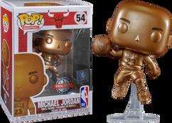 NBA Basketball - Michael Jordan Bronzed US Exclusive Pop! Vinyl Figure
