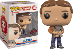 Stranger Things 3 - Eleven with Bear US Exclusive Pop! Vinyl Figure