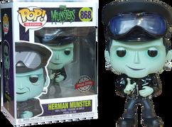 The Munsters - Hot Rod Herman Munster Pop! Vinyl Figure