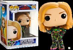 Captain Marvel (2019) - Captain Marvel in Neon Suit Pop! Vinyl Figure