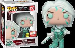 The Witcher - Ciri Magic Glow in the Dark E32019 Pop! Vinyl Figure
