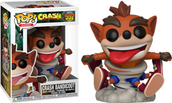 Crash Bandicoot - Crash Bandicoot Spinning Pop! Vinyl Figure