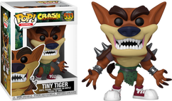 Crash Bandicoot - Tiny Tiger Pop! Vinyl Figure