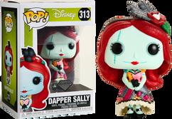 The Nightmare Before Christmas - Dapper Sally Diamond Glitter Pop! Vinyl Figure