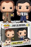 The Office - Toby vs Michael Pop! Vinyl Figure 2-Pack